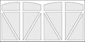 AristocratSeries Model #P5FS Door Preview